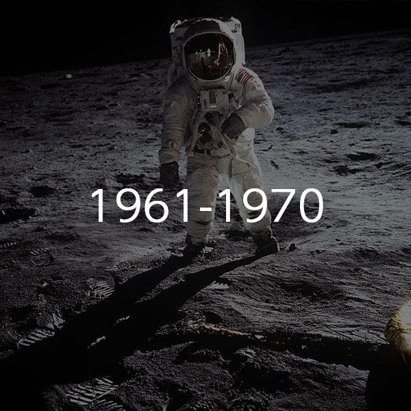 1961年~1970年