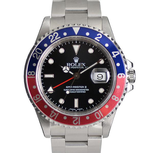ロレックス GMTマスターⅡ 16710 USED_I49-2