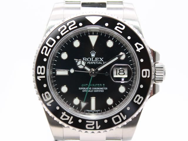 ロレックス GMTマスターII 116710LN 5695