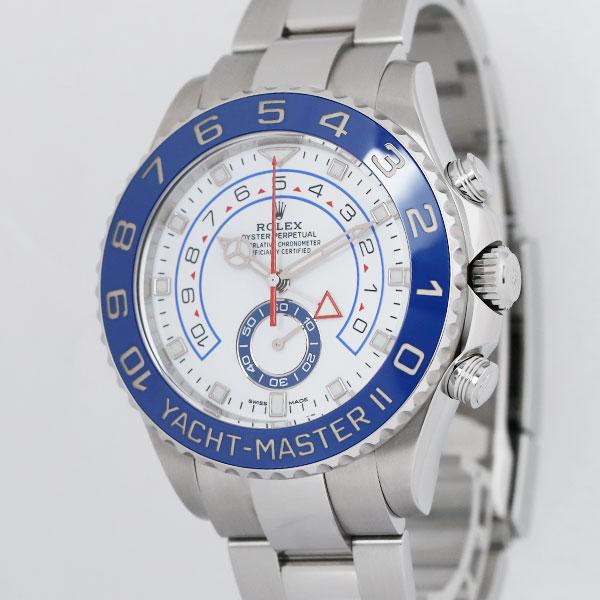 ロレックスヨットマスターⅡ1166803枚目
