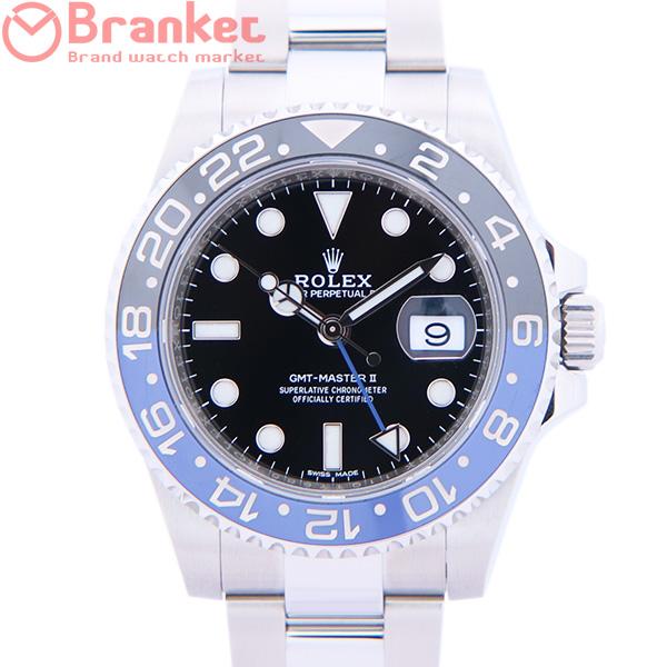 ロレックス GMTマスターII 116710BLNR USED_7503