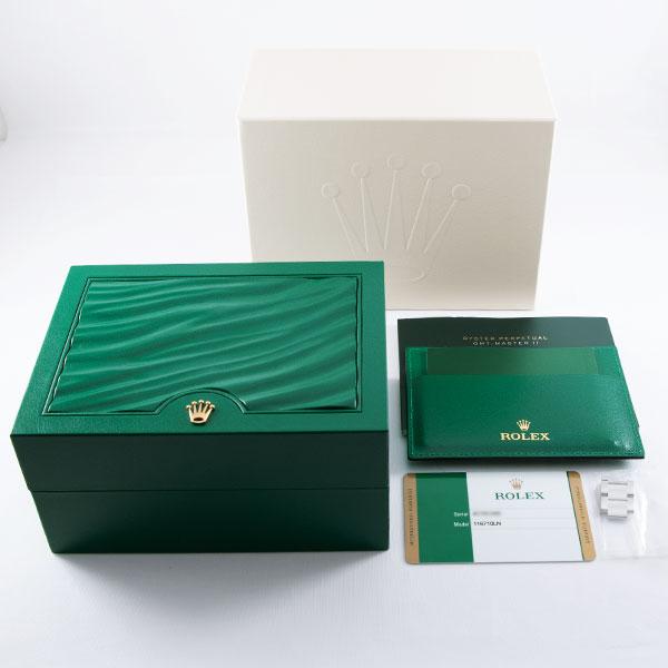 ロレックスGMTマスターII116710LN8枚目
