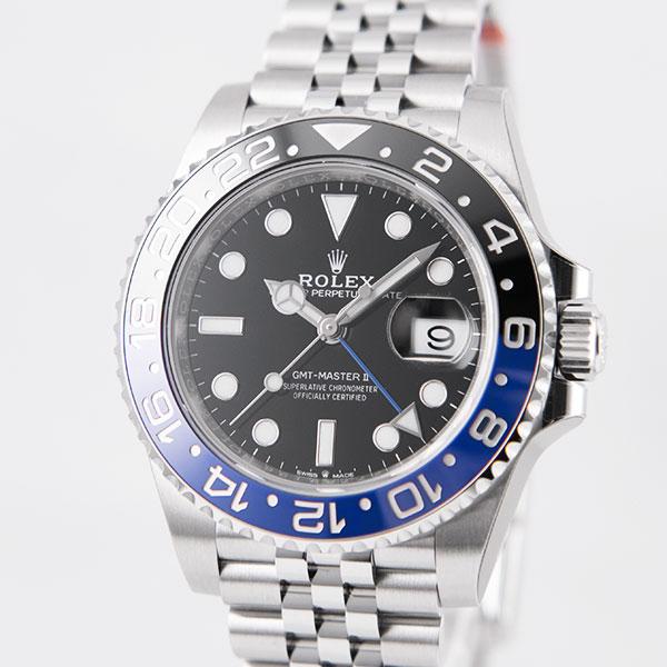 ロレックス GMTマスターII 126710BLNR NEW_i54-3