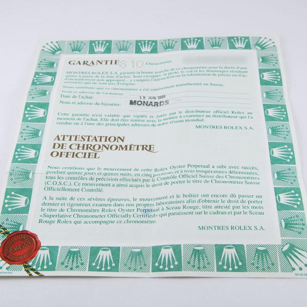ロレックス デイトナ 16518G USED_73048枚目