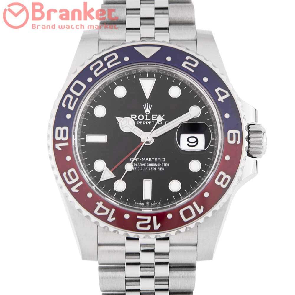 ロレックス GMTマスターⅡ 126710BLRO 6276