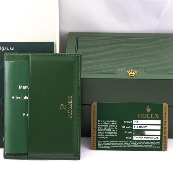 ロレックス ミルガウス 116400GV 6192