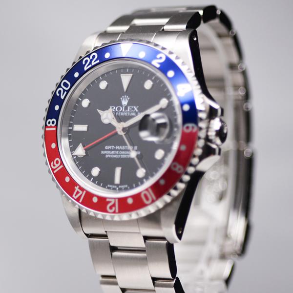 ロレックス GMTマスターⅡ 16710 USED_I49-3