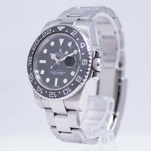 ロレックス GMTマスターII 116710LN USED_5651-3