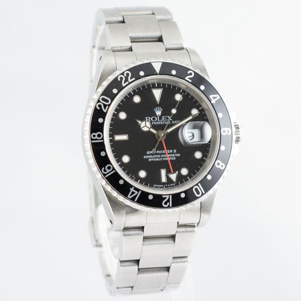 ロレックス GMTマスターII 16710 6033