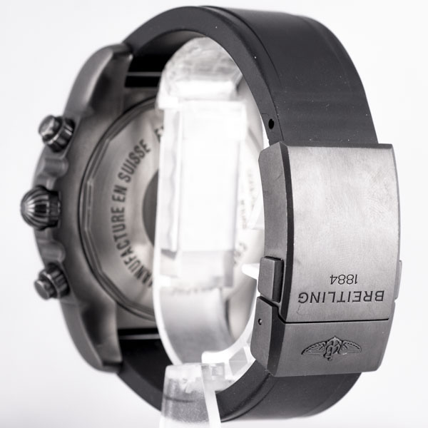 ブライトリング クロノマット ブラックスチール GMT MB0413 USED_6046-4