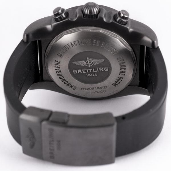 ブライトリング クロノマット ブラックスチール GMT MB0413 USED_6046-5