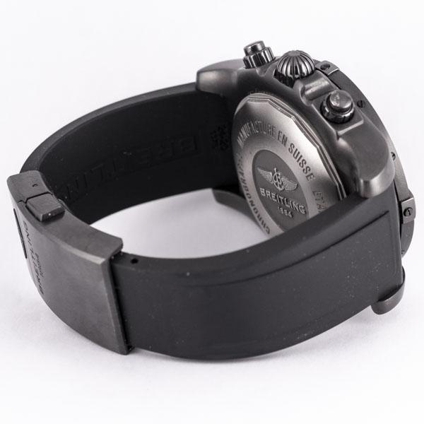 ブライトリング クロノマット ブラックスチール GMT MB0413 USED_6046-6