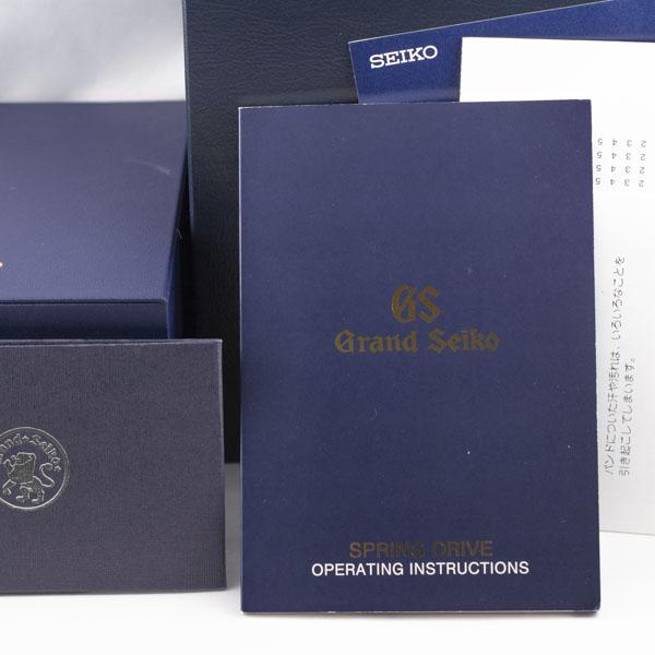 グランドセイコー スプリングドライブ クロノ マスターショップ限定 SBGC005 6188