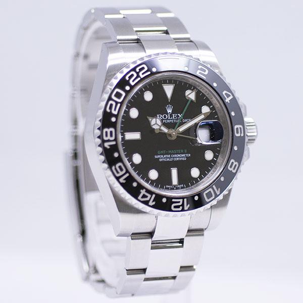 ロレックス GMTマスターII 116710LN USED_5651-4