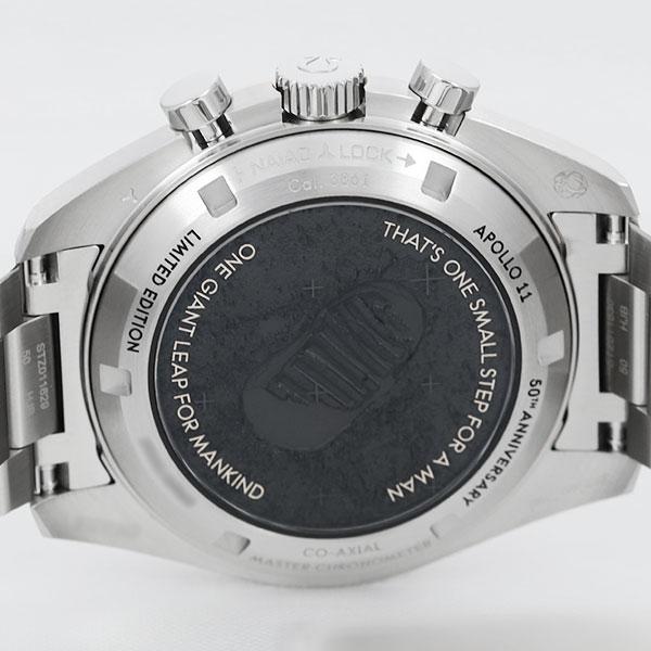 オメガスピードマスター ムーンウォッチ アポロ11号50周年310.20.42.50.01.0017枚目