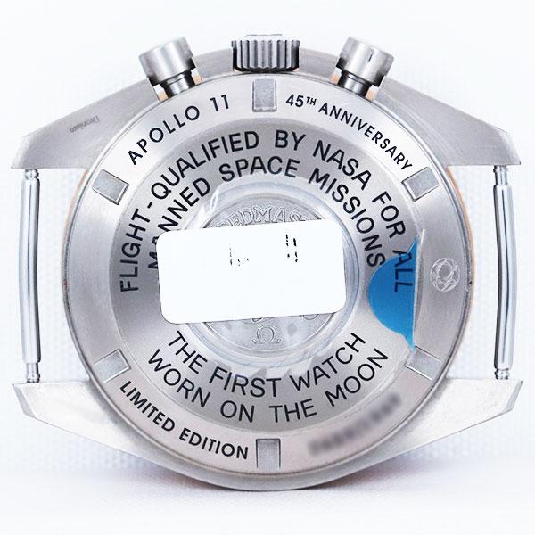 オメガスピードマスター プロフェッショナル アポロ11号45周年記念モデル311.62.42.30.06.0016枚目