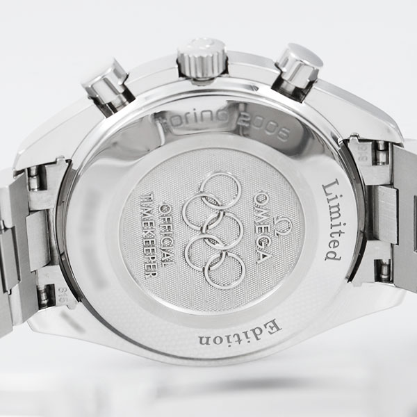 オメガスピードマスター 2006 トリノオリンピック限定3538.307枚目
