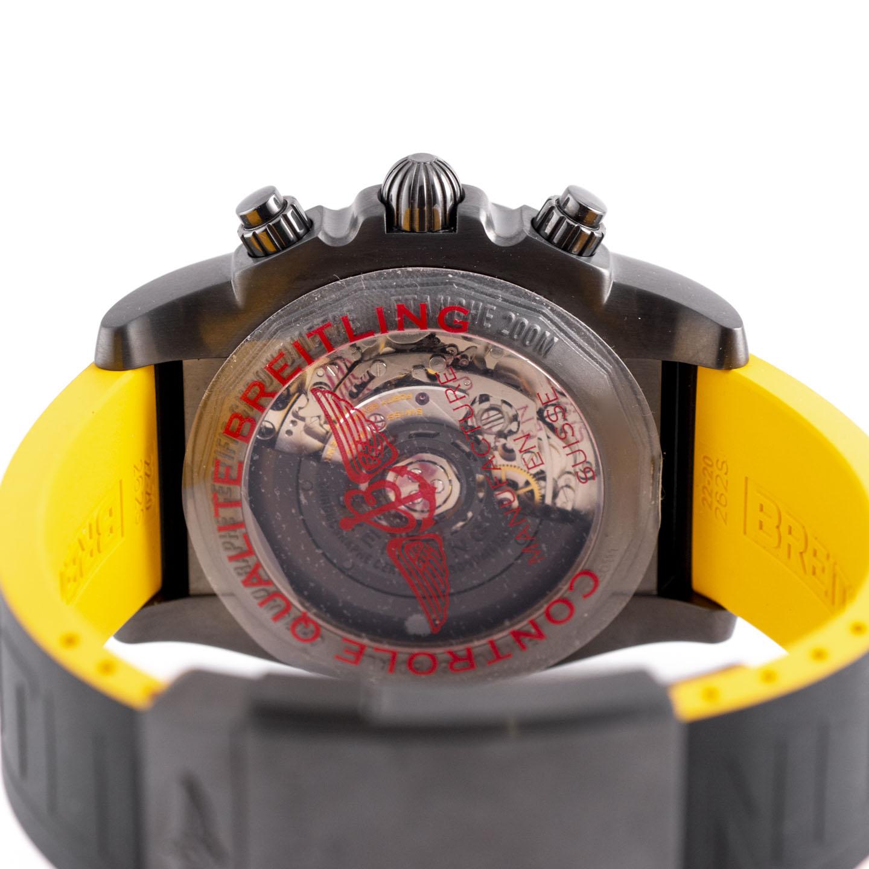 ブライトリング クロノマット44 ブラックスチール MB0111 [MB0111C3/I531]  6080