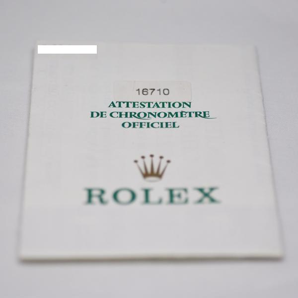 ロレックス GMTマスターII 16710 5650