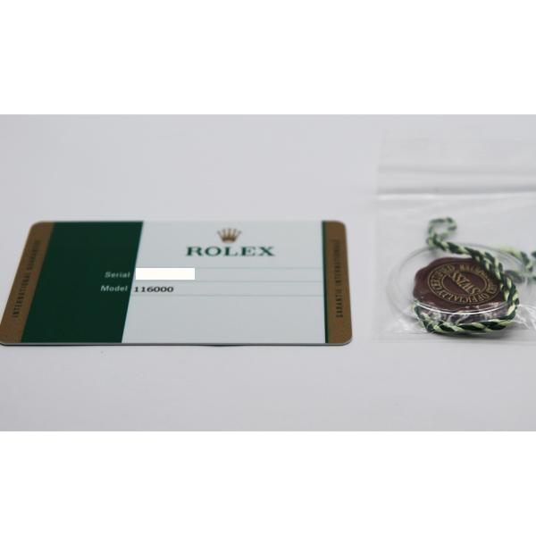 ロレックス オイスターパーペチュアル 116000 5539