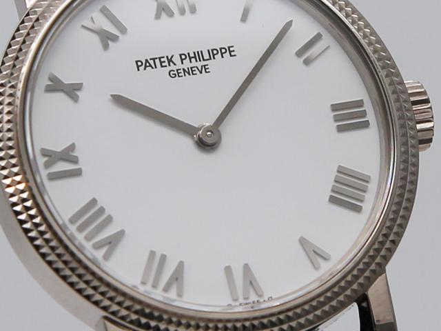 パテックフィリップ カラトラバ レディース 4809SG-001 5059