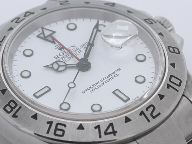 ロレックス エクスプローラーⅡ 16570 4707