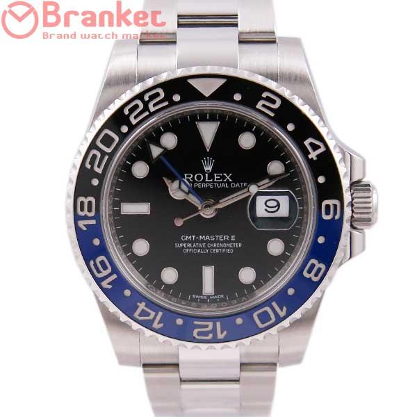 ロレックス GMTマスターⅡ 116710BLNR USED_6667-2