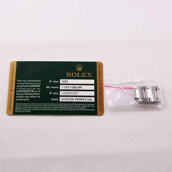 ロレックスGMTマスターⅡ116710BLNR8枚目