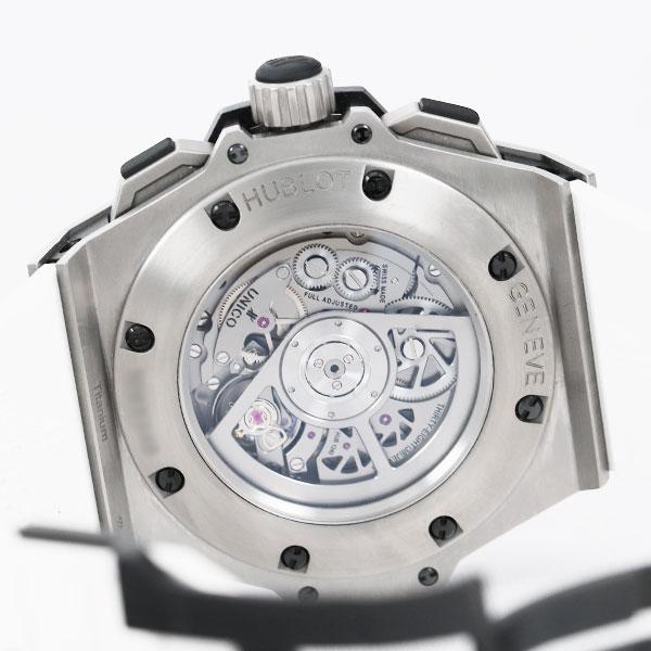 ウブロキングパワー ウニコ チタニウムダイヤ701.NX.0170.RX.17047枚目