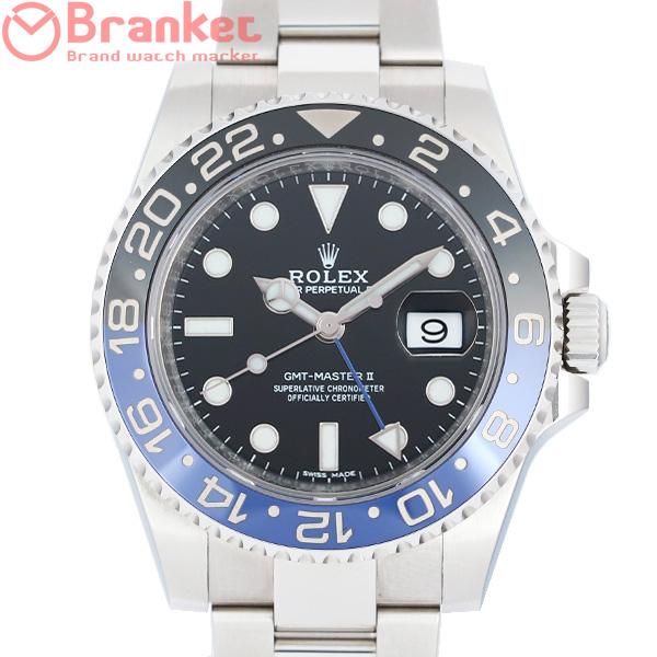 ロレックス GMTマスターII 116710BLNR USED_7995