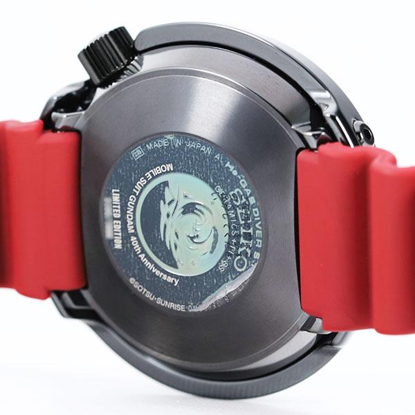 セイコープロスペックス 機動戦士ガンダム 40周年記念 シャア専用ザクSBDX0297枚目