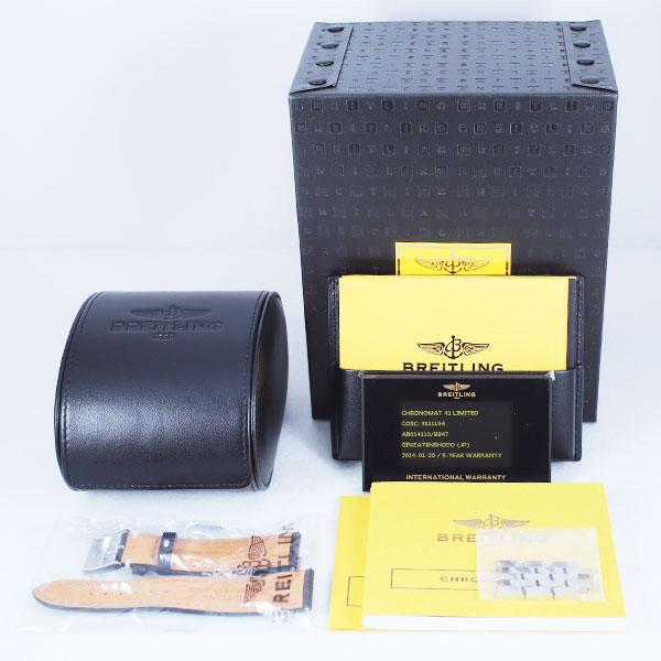 ブライトリングクロノマット41  世界2000本限定AB01418枚目