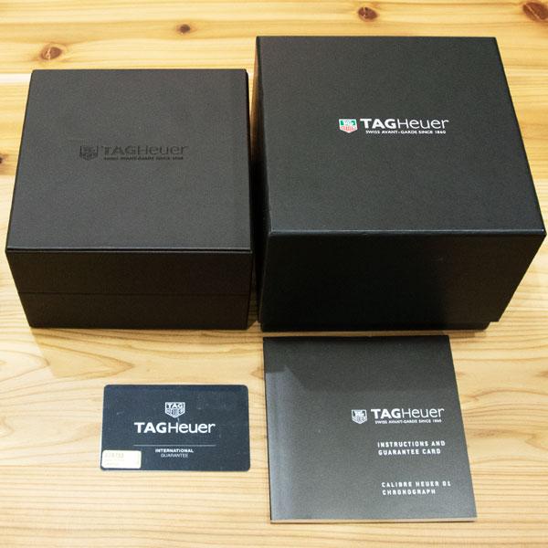 タグホイヤー カレラ キャリバーホイヤー01 ブルータッチエディション CAR2A1T.FT6052  USED_65448枚目