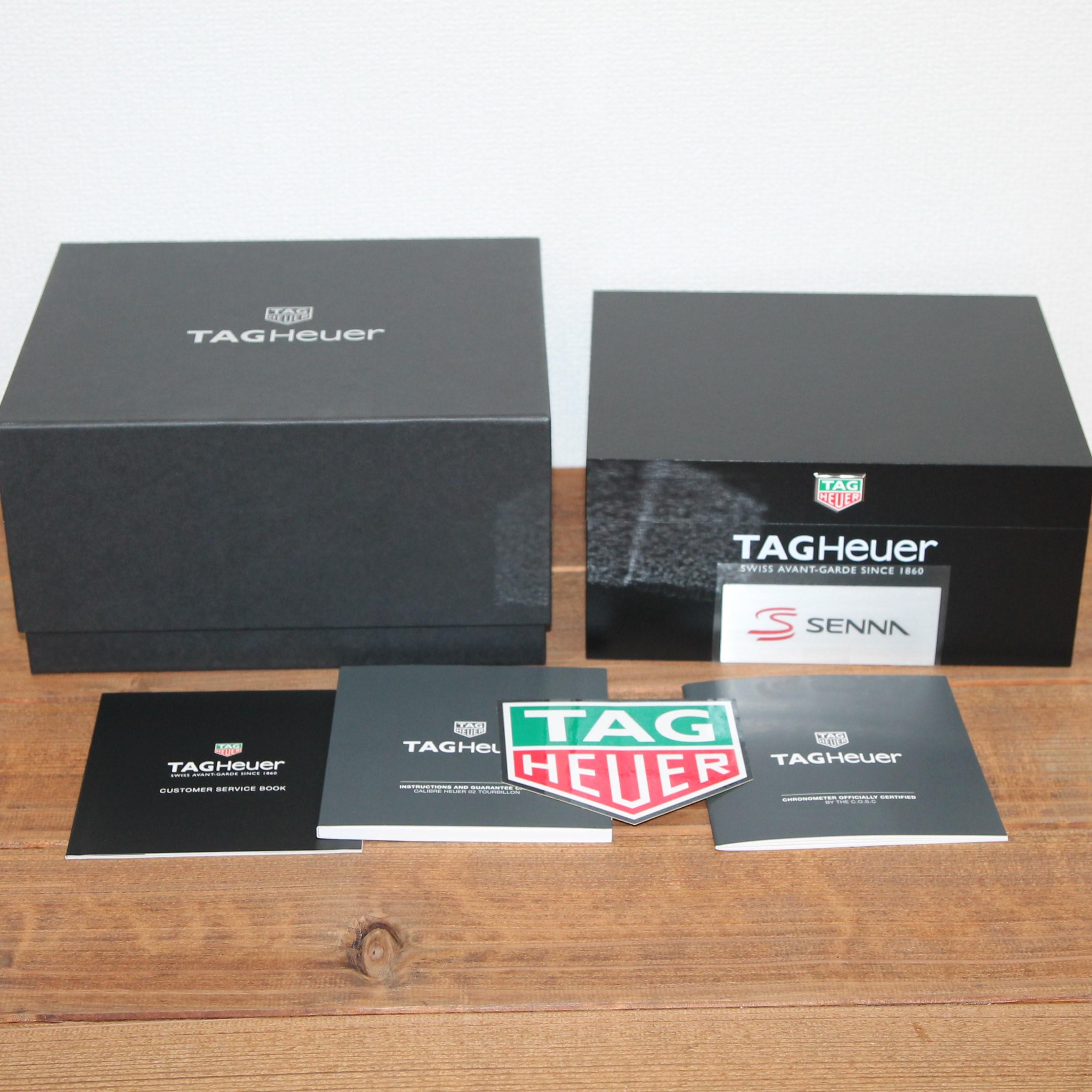 タグホイヤー セナ スペシャルエディション カレラ ホイヤー02T CAR5A91.FT6162 6036