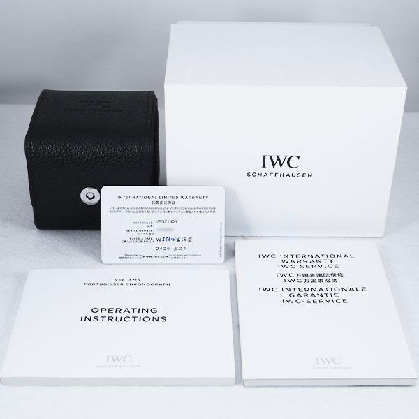 IWCPORTUGIESER CHRONOGRAPHIW3716068枚目
