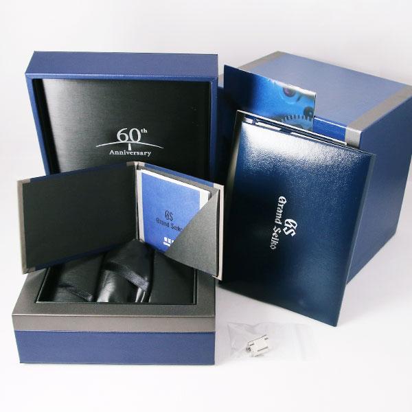 グランドセイコー60周年記念限定モデル  マスターショップ限定モデルSBGH2818枚目