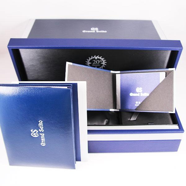 グランドセイコーキャリバー9S 20周年限定 メカニカルハイビート36000SBGJ2298枚目