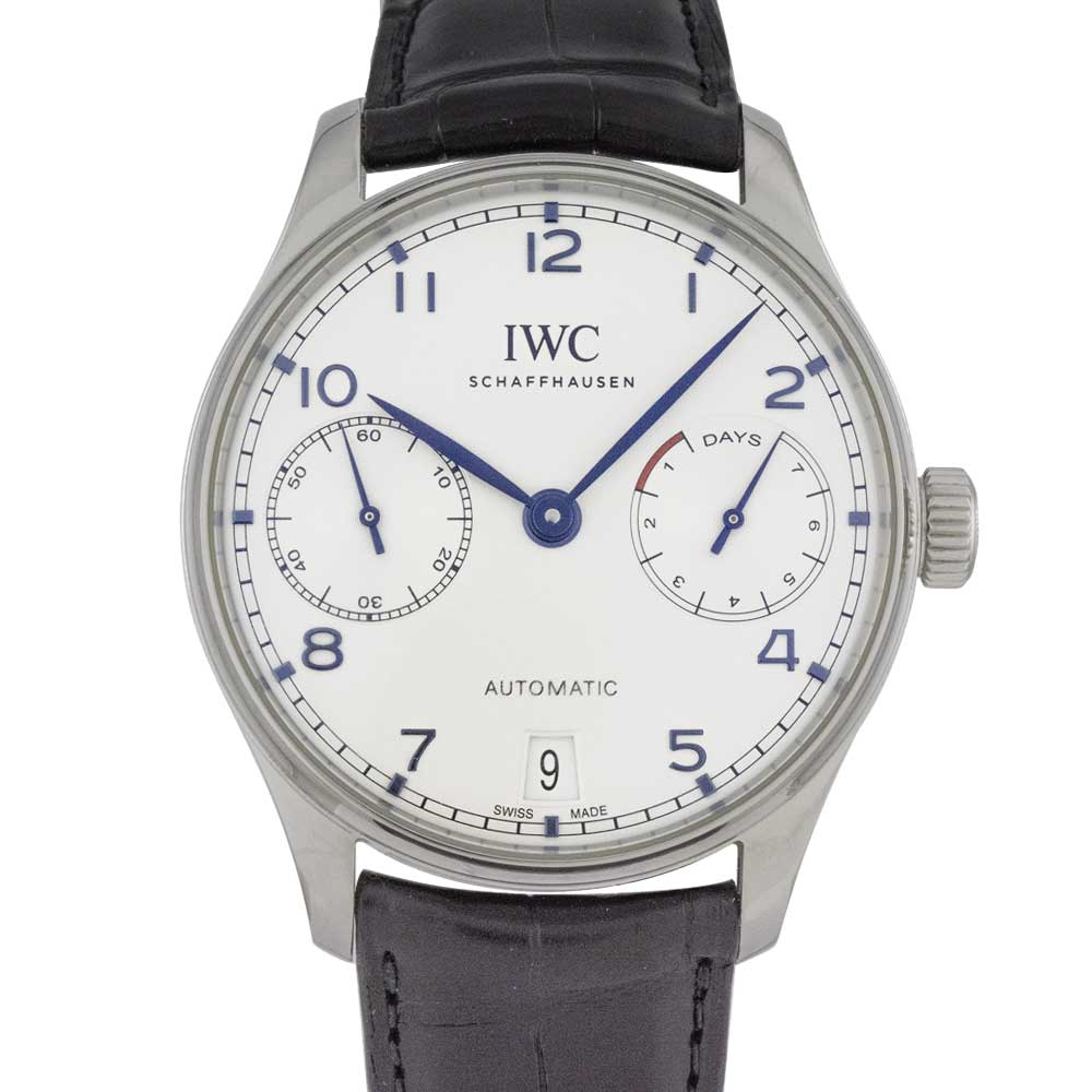 IWC ポルトギーゼ オートマティック 7デイズ IW500705 USED_5999-2