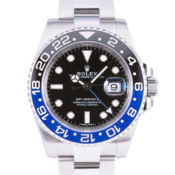 ロレックス GMTマスターⅡ 116710BLNR USED_5733